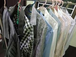 Long sleeve shirts for man x10