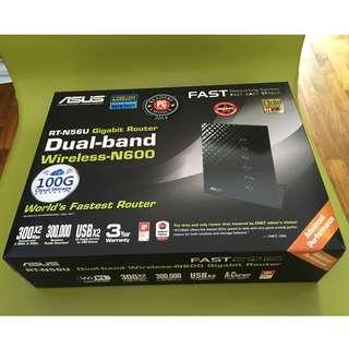 🚚 ASUS RT-N56U Dual-Band Wireless-N600 Gigabit Router