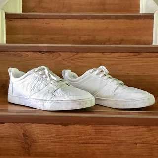 Zara man white sneakers
