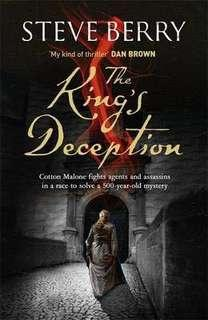 🚚 The King's Deception by Steve Berry