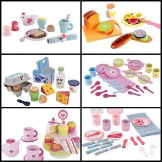 ELC wooden kitchen / cooking play set