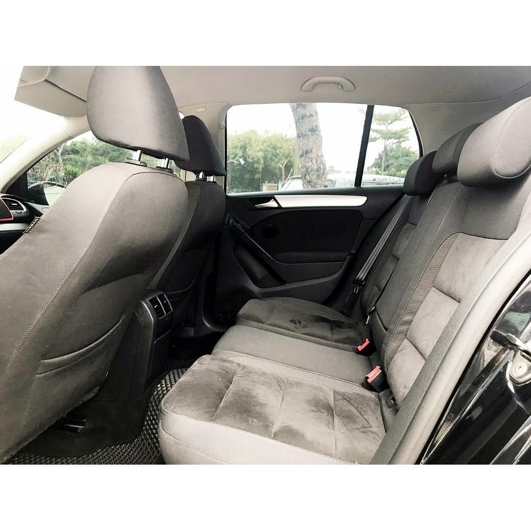 2011年 福斯 GOLF 6 1.4 TSI 全車GTI外型 降避震 AP卡鉗 帥氣鋁圈 全額貸