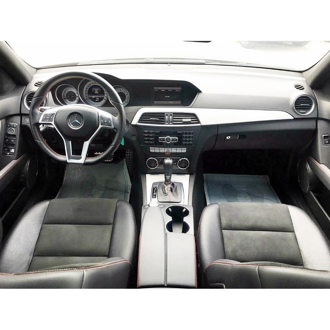 2012年 BENZ C250 AMG PLUS版本 超稀有 車況超優 車庫車 全額貸 低利率專案實施