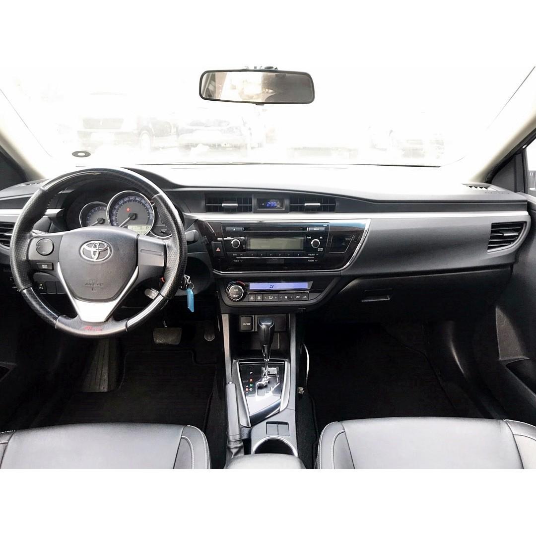 2013年 TOYOTA ALTIS Z版大包 雙出尾管 恆溫 一手車 車況超優 可全額超額貸 月付千元!