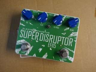 Electro-Faustus Noise Devices EF115 Super Dsruptor Bass Fuzz Effect Pedal