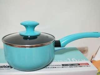 🚚 Dashiang 蒂芬妮 單把 小奶鍋 不沾鍋