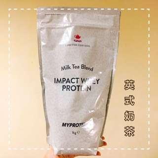 🚚 全新!Myprotein 乳清蛋白粉 英式奶茶 1kg
