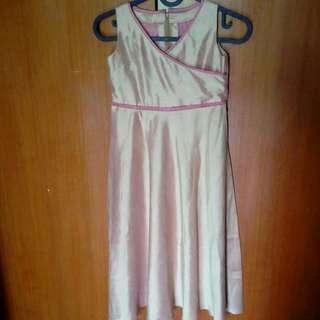 Dress Gaun Anak Perempuan Pesta Preloved