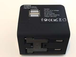 Travelers Ac adapter high speed 旅遊快速充電器