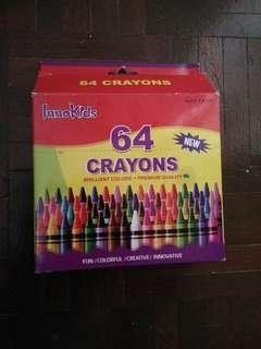 62 Pcs Crayo