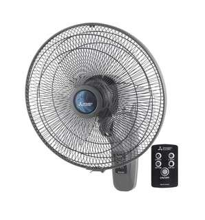 """Wall Fan with remote 16"""""""