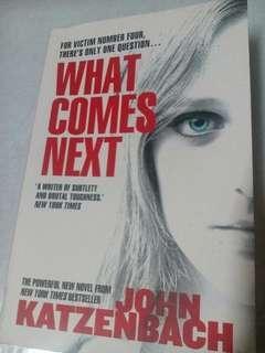English novel (What Comes Next by John Katzenbach)