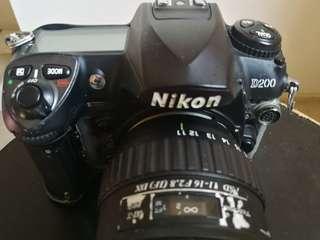 Nikon d200 & tokina 11-16mm