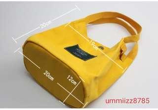 korean sling beg canvas