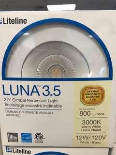 9 LITELINE LUNA LED POTLIGHTS