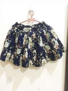 Flower Short Skirt