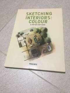 🚚 Sketching Interiors: Colour - A Step by Step Guide by Page One *FREE SHIPPING*