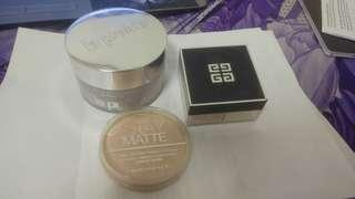 High end powder (La Prairie, Givenchy)