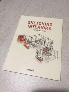 🚚 Sketching Interiors - A Step by Step Guide by Page One *FREE SHIPPING*