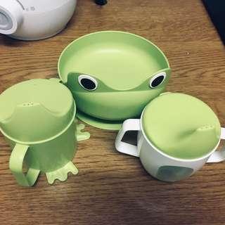 Ikea Feeding Plate & Cup