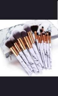 🚚 [PO] marble make up brush set