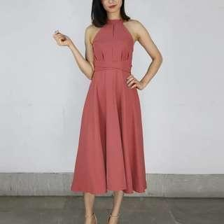 [Promotion] Halter Dress
