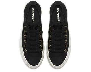 """Converse CT AS lift """"Frilly Thrills"""" Black"""