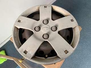 Chevrolet Aveo Steel Steel Rims