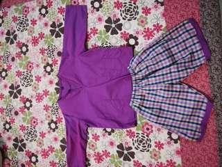Baju Melayu with short pants