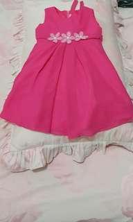 Dress pink size 2