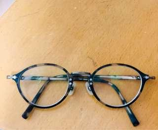 文青眼鏡 Clayton Franklin made in Japan