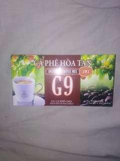 G9 instant Coffee  3in 1