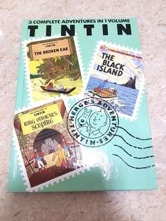 Bn Tintin adventures 3 in 1 book