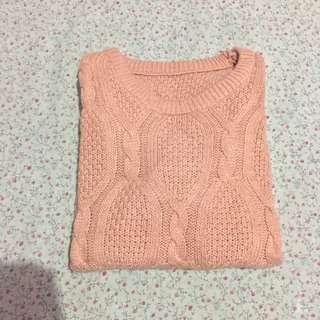 knitwear sweater pink