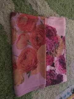 Flora hijab shawl