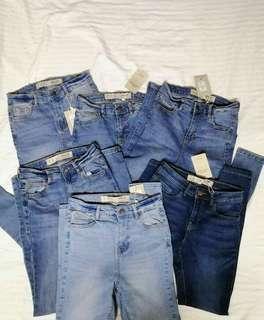 Denim Co. Highwaisted Skinny Jeans