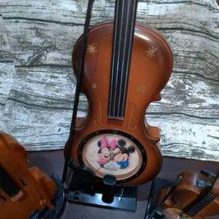 小提琴擺飾/3個合售