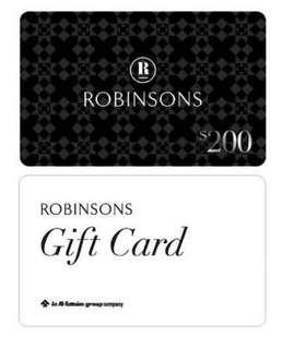 🚚 Robinsons Gift Card for sale