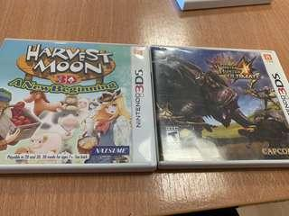 New 3DS XL GAMES for sale or trade