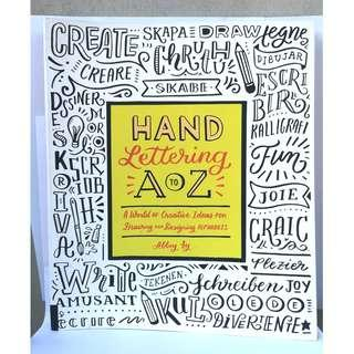 Hand Lettering A to Z by Abbey Sy