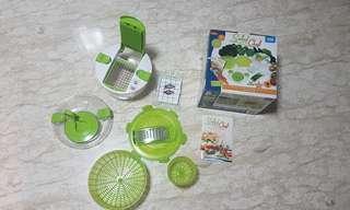 Genius salad chef/spinner/mixer