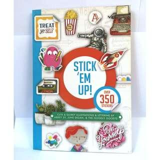 Stick 'Em Up: Sticker Book by Abbey Sy, June Digan & The Googly Gooeys