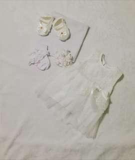 Preloved Baptismal Outfit