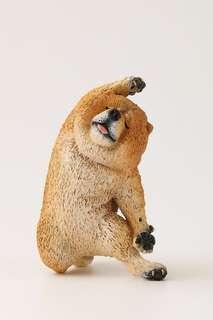 Animal Life狗舞蹈大師 Dancing Dog 扭蛋 鬆獅犬