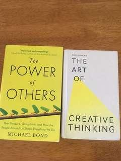 The power of others and the art of Creative thinking