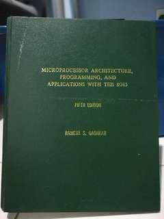Microprocessor Architecture Programming and Applications with the 8085 (Ramesh Gaonkar) with hardcover