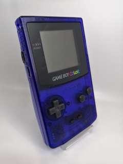 """Gameboy Color Toy """"R"""" us mid night blue limited Edition Game Boy"""