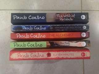 Paulo Coelho 5 Books (Best Sellers!) RM25 each/ RM120 for all