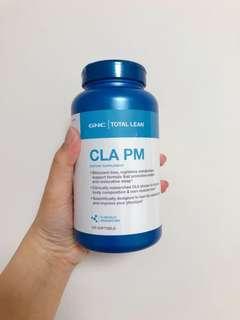 真正睡眠減肥 GNC CLA PM 共軛亞麻油酸 睡眠配方 線條元素 有助減少體內脂肪 增加肌肉