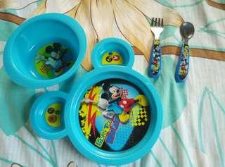 Disney imported baby meal set